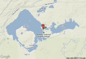 Sandhill Bowdion Map